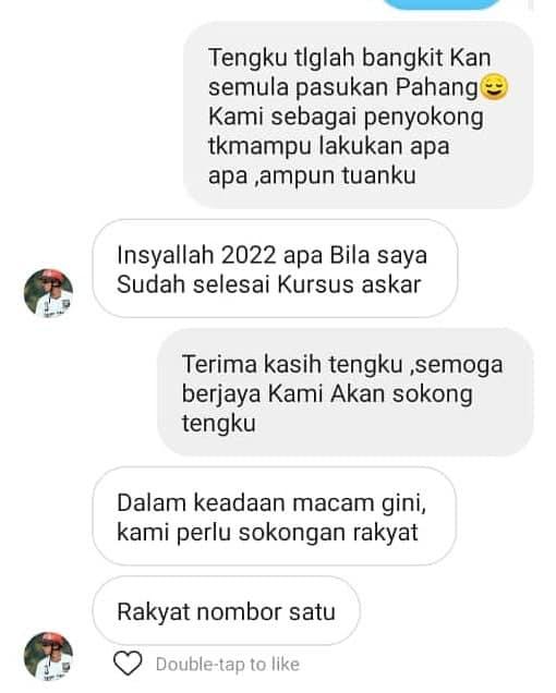 86364340 1005694533147741 2151830721839235072 n Sepupu TMJ Bakal Ambil Alih Pasukan Pahang?
