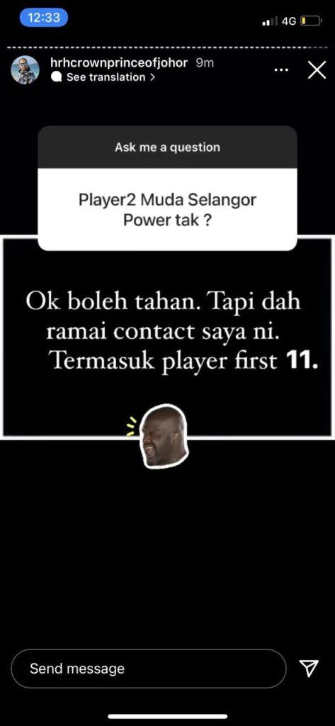 8E057961 928F 4F3D 8653 215380F04C7D Pemain Muda Selangor Hubungi TMJ