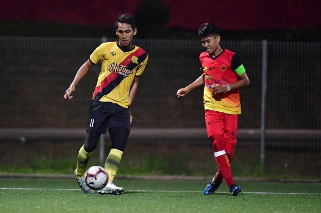 hamka ruslan jang Kisah Bekas Pelajar & Pemain Bola Sepak SSBJ Buka Perniagaan Sains Sukan Wajar Dicontohi