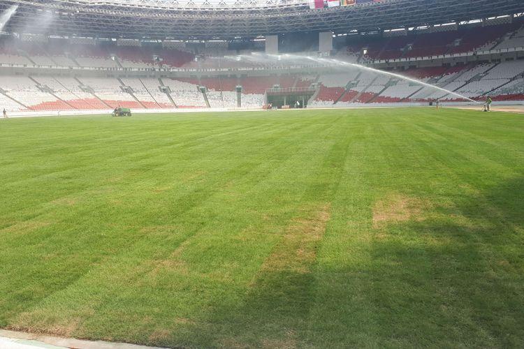 rumput Rumput Padang Stadium Bukit Jalil Ikut Seperti Stadium Sultan Ibrahim, Johor Darul Ta'zim